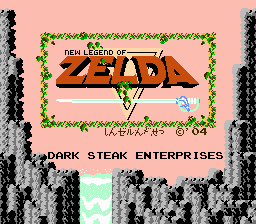 New Legend of Zelda - Shin Zelda Densetsu -  - User Screenshot